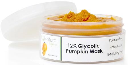 35. PUMPKIN Face MASK Glycolic Acid Peel, At Home Facial Spa Treatment