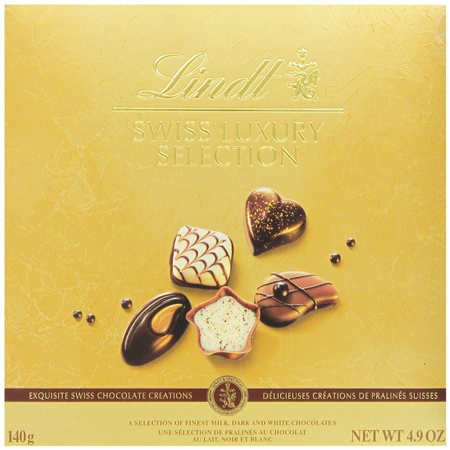6. Lindt Chocolate Swiss Luxury Selection Box
