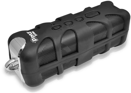 24. Pyle PWPBT60 Sound Box Splash Bluetooth Rugged and Splash-Proof Marine Grade Portable Wireless Speaker