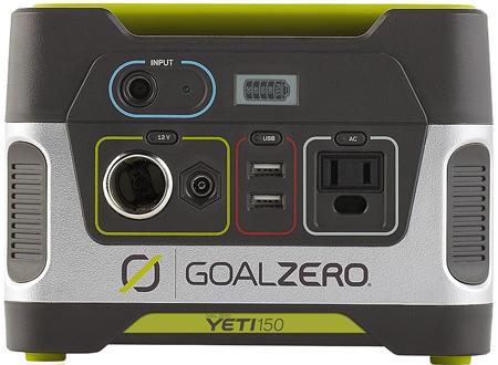 7. Goal Zero Solar Generator Model 22004 Yeti 150