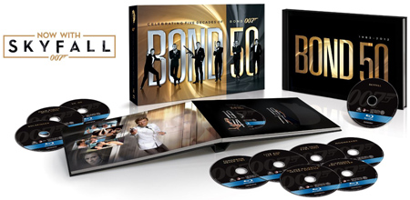 14. Bond 50: The Complete 23 Film Collection, including Skyfall