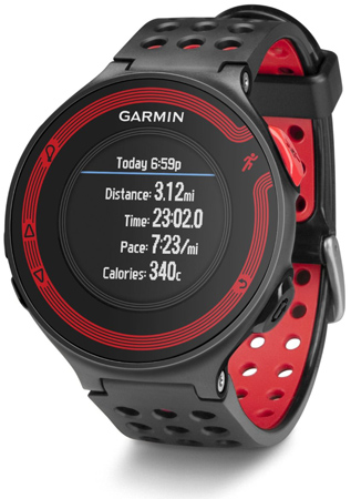 20. Garmin Forerunner 220 Color Black or Red Bundle Includes Heart Rate Monitor