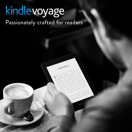 41. Kindle Voyage, 6 High-Resolution Display (300 ppi)