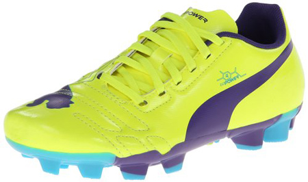 2. PUMA evoPOWER 4 Firm-Ground JR Soccer Cleat
