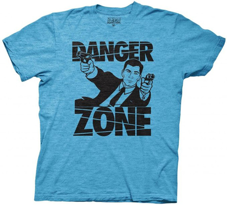 9. Ripple Junction Archer Danger Zone Adult T-shirt