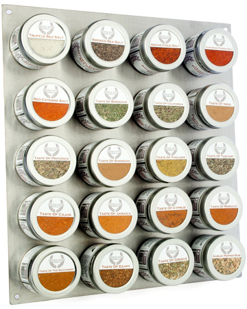 10. Complete Gourmet Seasonings, Spices & Finishing Salts of the World