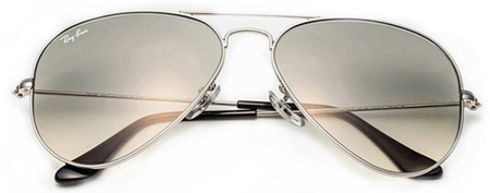 11. Ray-Ban Aviator Non-Polarized Sunglasses