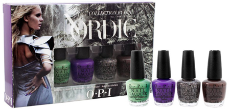 26. OPI Nordic Collection Mini Pack Nail Lacquer, 4 Count