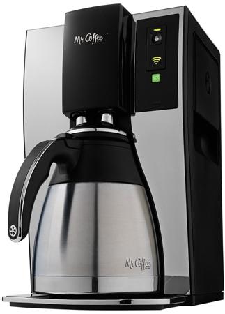26. Mr. Coffee Smart Wifi-Enabled WeMo 10-Cup Optimal Brew Coffeemaker, BVMC-PSTX91WE