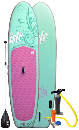37. Isle 10 ft 4 inch Womens Inflatable Stand Up Paddle Board