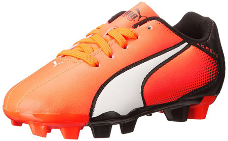 1. PUMA Adreno Firm Ground JR Soccer Shoe
