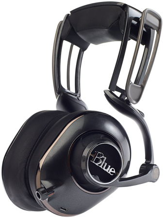 20. Blue Microphones Mo-Fi Powered High-Fidelity Headphones