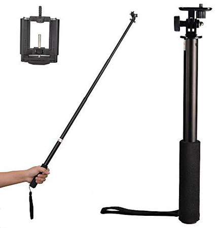16. Mudder 3-Way Telescopic Handheld Monopod Selfie Stick