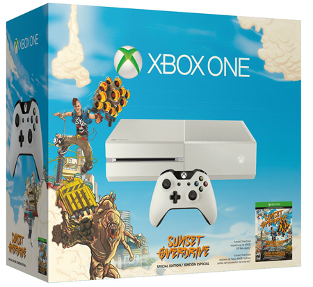 47. Xbox One Special Edition Sunset Overdrive Bundle