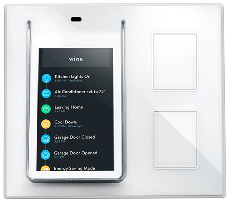 38. Wink Relay Smart Home Wall Controller
