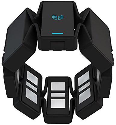 1. Myo Gesture Control Armband with BlackColor