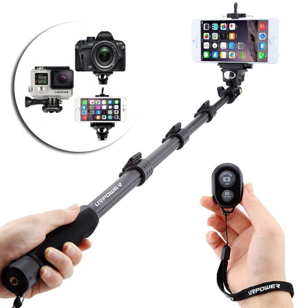 25. URPOWER® Handheld Extendable Selfie Stick