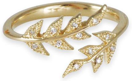 12. MIZUKI Double Branchlet Ring