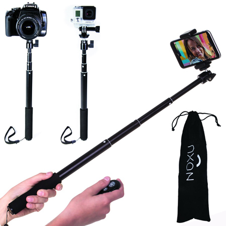 23. Noxu Bluetooth Remote Self-portrait Monopod
