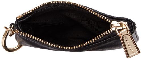10. Rebecca Minkoff Little Lottie Worthit Wallet, Black, One Size