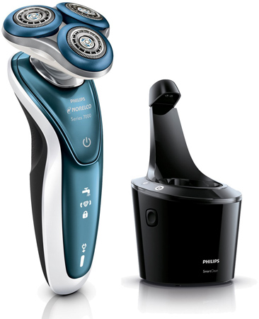 34. Philips Norelco Shaver 7300 for Sensitive Skin, S7370/84