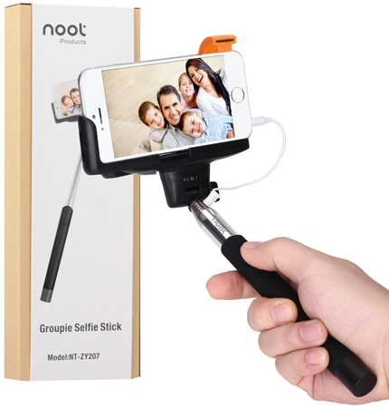 7. Noot® Battery Free Extendable Selfie Stick for Group Portraits Model: NT-ZY207