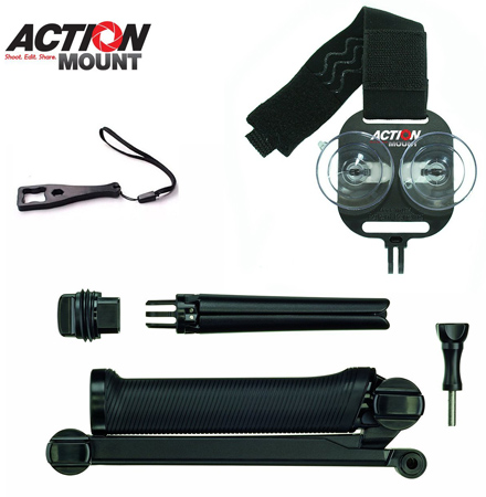 24. Action Mount® With Universal Mount Adapter