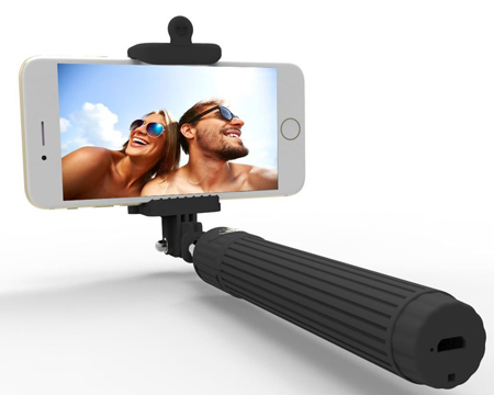 9. Kiwii Wireless Bluetooth Extendable Monopod