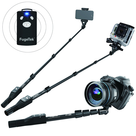 10. Three in One Weather Resistant Monopod by FugeTek