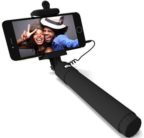 3. PerfectDay Extendable Monopod Wired Selfie Stick