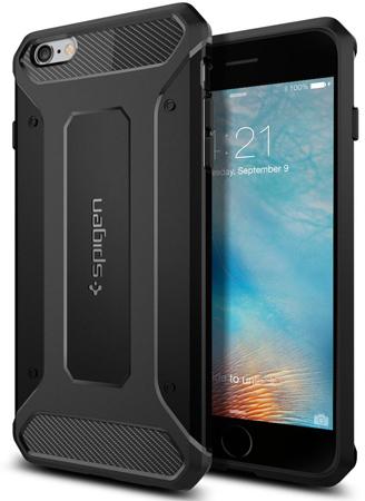 12. iPhone 6s Plus Case, Spigen® [Rugged Capsule]