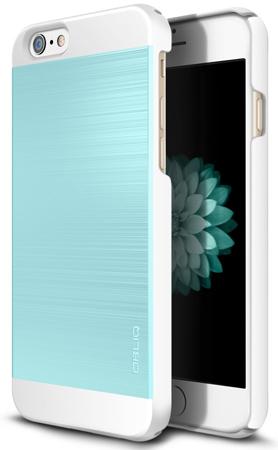 29. iPhone 6S Case, OBLIQ [Slim Meta II]Champagne Gold/White