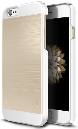 27. iPhone 6S Case, OBLIQ [Slim Meta II][Aqua Blue/White