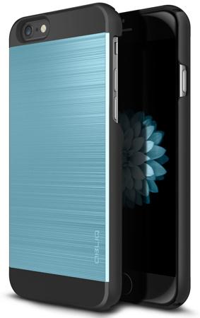 30. iPhone 6S Case, OBLIQ Slim Meta II Satin Silver/Black