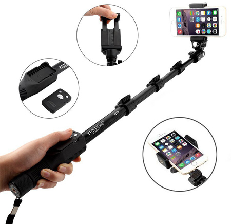 27. Extendable Monopod Selfie Stick by i-smile®