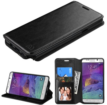 19. Fashionable Premium Leather Protective Flip Cover Case