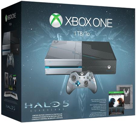 12. Xbox One Halo 5: Guardians Limited Edition 1TB Bundle