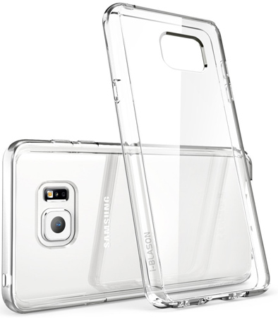 18. Halo Series Hybrid Clear Case / Cover with TPU Bumper