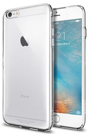 8. iPhone 6s Plus Case, Spigen® [Capsule] SOFT-FLEX