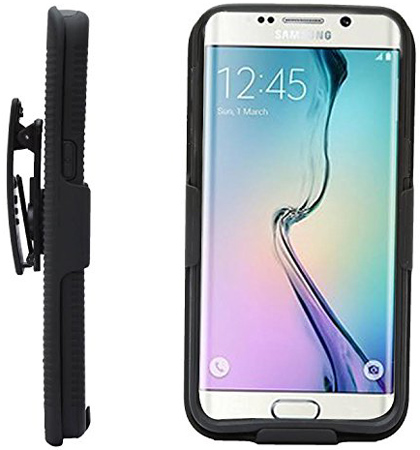 24. Galaxy Note 5 Holster Belt Clip Super Armor Combo Case