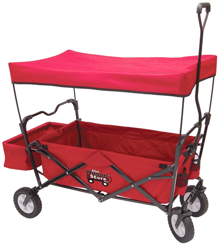 7. On the Edge Red Folding Utility Wagon, Model: 900124