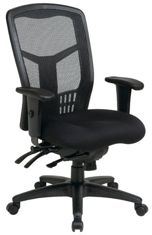 8. Proline II ProGrid High Back Chair, Black