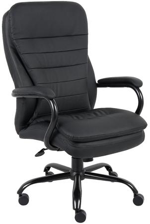 8. Boss B991-CP Heavy Duty Double Plush Caressoftplus Chair