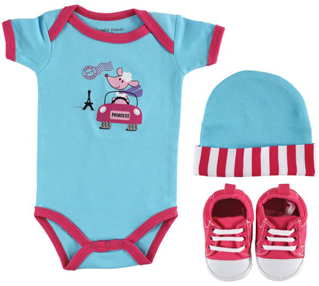 4. 3-Piece Baby On The Go Gift Set