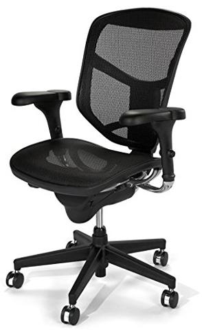 9. WorkPro(R) Quantum 9000 Series Ergonomic Mesh Mid-Back Chair, Black