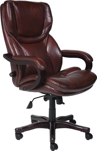 7. Serta 43506 Bonded Leather Big & Tall Executive Chair