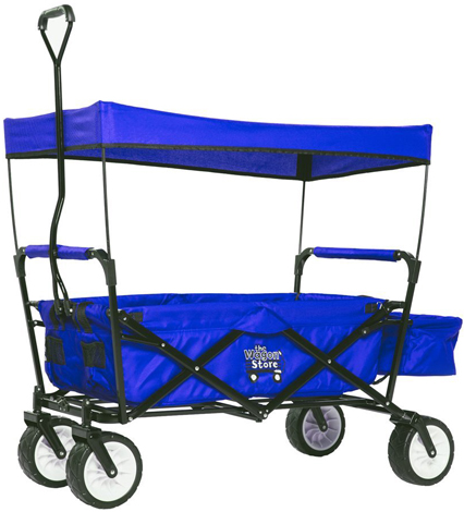 10. WagonBuddy OUTDOOR FOLDING WAGON With CANOPY