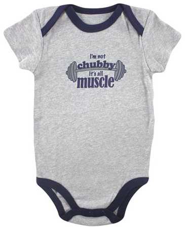 1. Luvable Friends Baby Sayings Bodysuit - Wild Boy