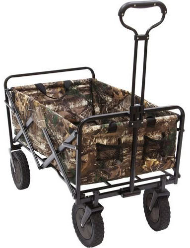 15. Mac Sports Realtree Camouflage Outdoor Folding Utility Wagon