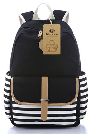 10. BLUBOON School Bags Bookbags Backpackvas Student School Bookbags Backpack